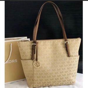 $248 Michael Kors Jer Set Handbag MK Purse Bag